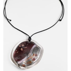 Cosmic Glass Necklace